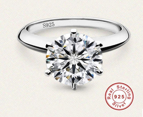 DUMONT Royal 925 Silber Prinzess Ring-ChicBella