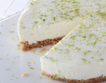 Sisserou Lime & Coconut Cheesecake