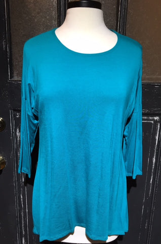 Long Sleeve Hi/Low Tunic