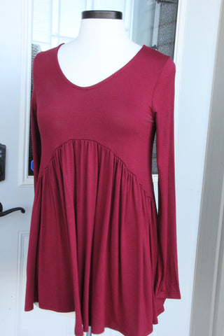 Waterfall Babydoll Tunic
