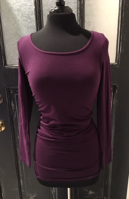 Long Sleeve Extended Length Top