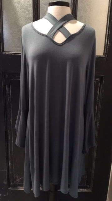 Halter Tunic Dress