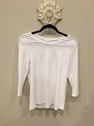 Long Sleeve Scoopneck Shirt