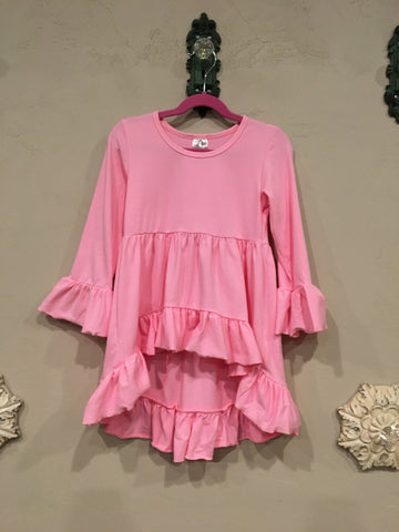 Kids Hi/Low Ruffle Tunic