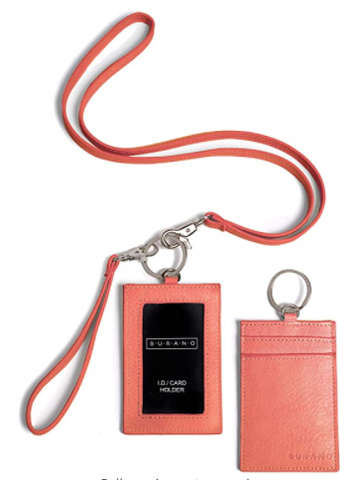 Burano Lanyard w/  ID Holder