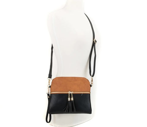 Amy Tassel Crossbody