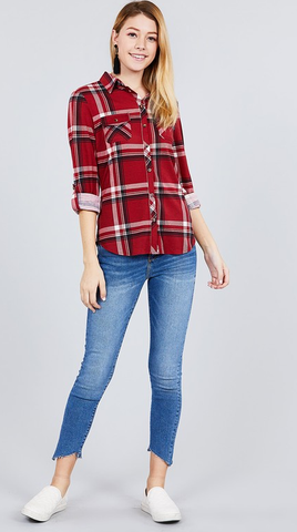 Macy Plaid Shirt