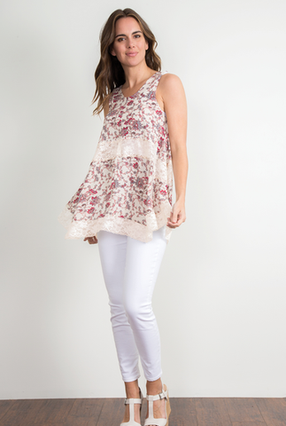 Pick Me Up Lace Tunic