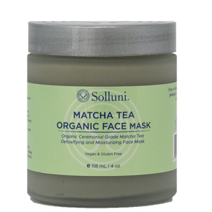 Matcha Tea Organic Face Mask