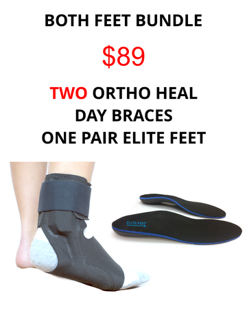 Heel Pain Two Feet Bundle Pack - Heel Pain Express