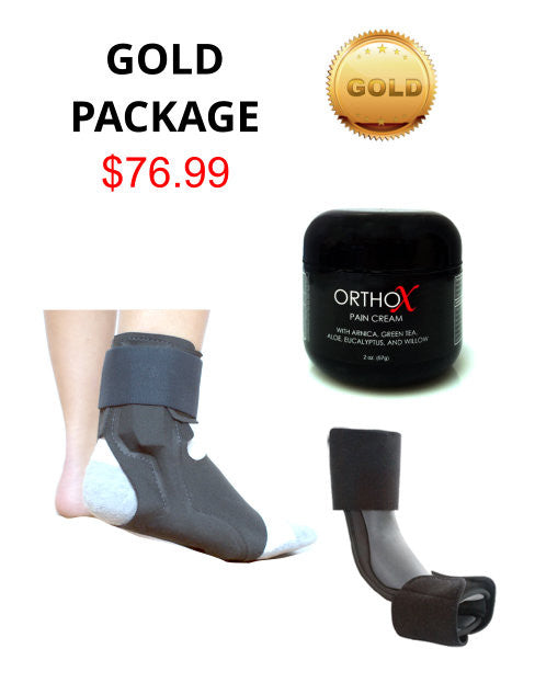 Gold heel pain package