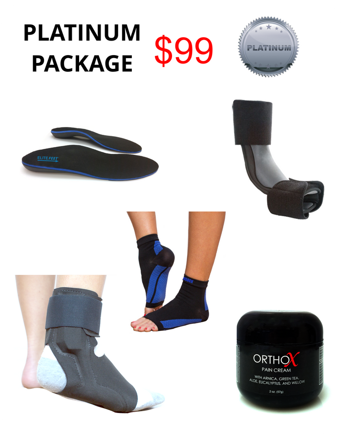 Platinum Heel Pain Package - Heel Pain Express