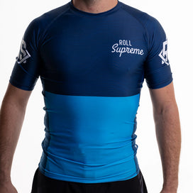Roll Supreme Ranked Rashguard 2.0 - Blue