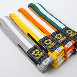 Kids Belts with White Stripe