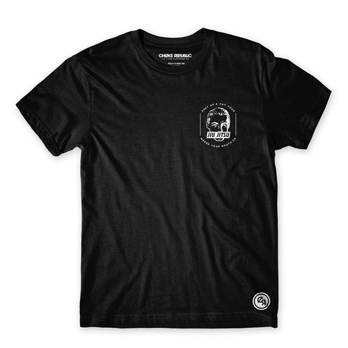 Jiu Jitsu Mouth Tee - Black
