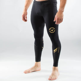 Virus Bioceramic Grappling Compression Spats - Black / Gold
