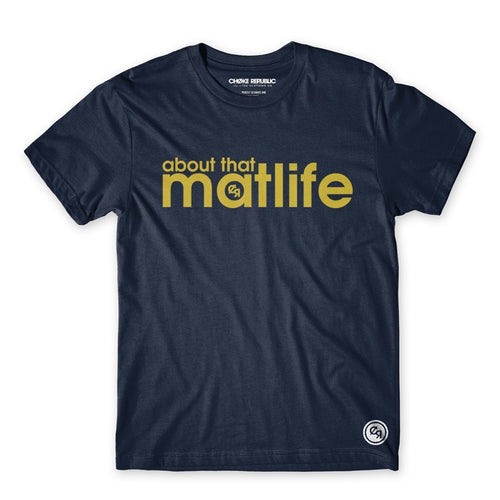 Matlife Tee - Navy