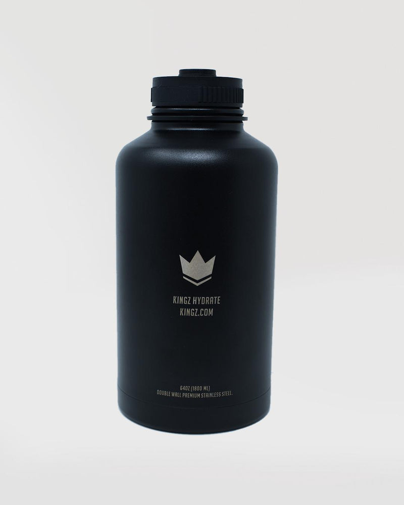Kingz Hydrate 64oz Bottle - black