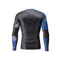 Phalanx Chaos Ranked Rashguard - Blue - back