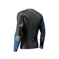 Phalanx Chaos Ranked Rashguard - Blue - back left