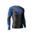 Phalanx Chaos Ranked Rashguard - Blue - Front left