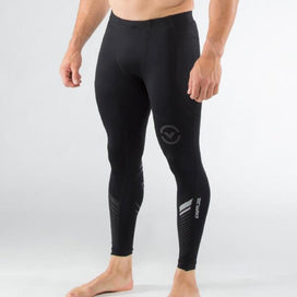 Virus Stay Cool Grappling Compression Pants - Black/Silver