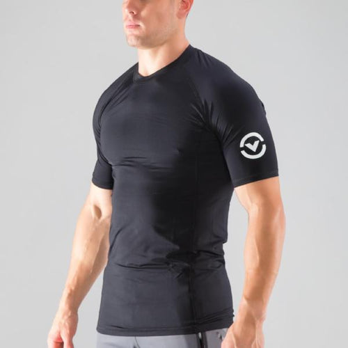 Virus Stay Cool Short Sleeve Rashguard - Black