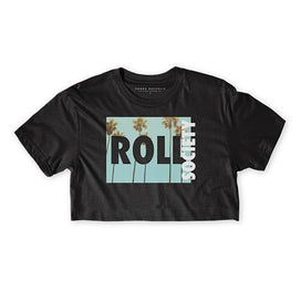 Choke Republic Roll Society Women's Crop Top