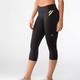 Virus Bioceramic Compression Crop Pants