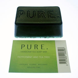 Idee Pure Green Peppermint and Tea Tree Bar