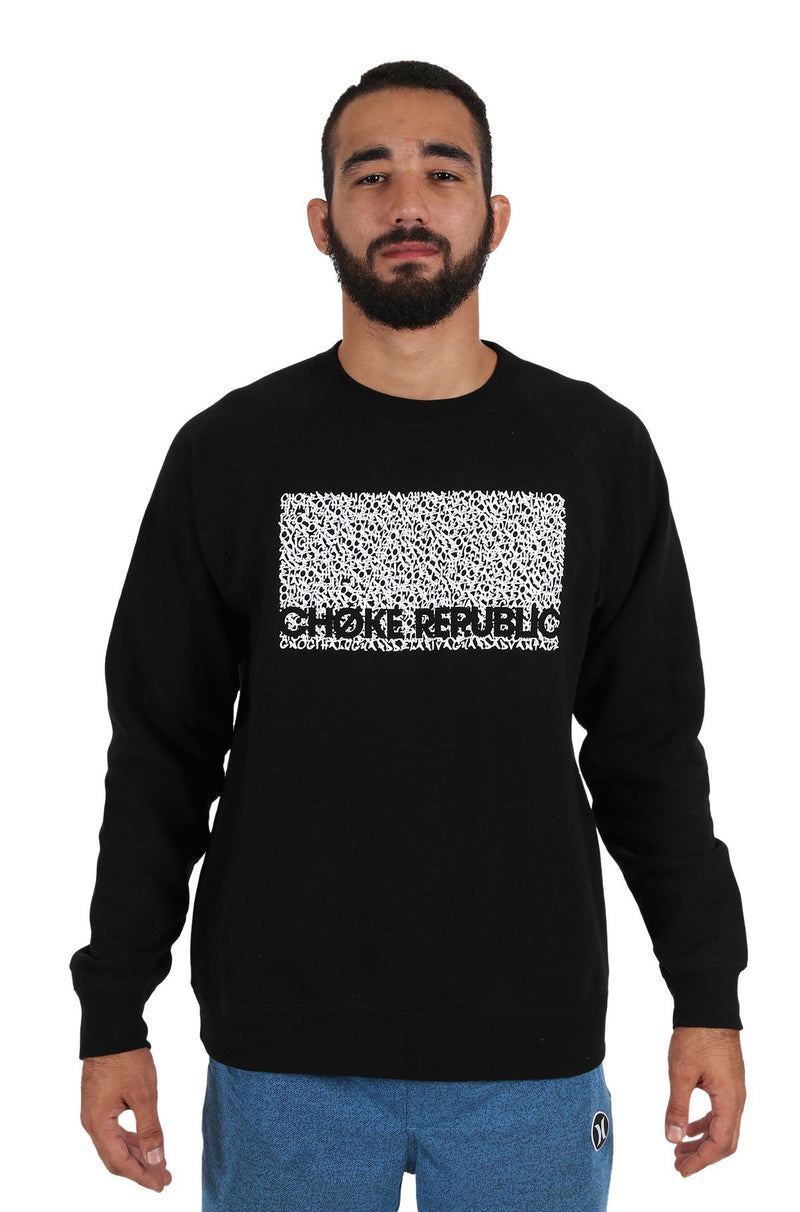 Choke Republic Graffiti Sweatshirt - Fighters Market
