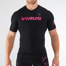 Virus Killer Cub Short Sleeve Rashguard - Black