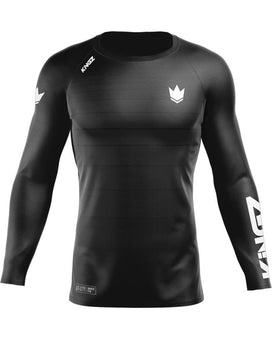 Kingz Ranked v5.0 L/S Rash Guard - black