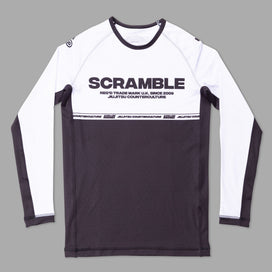 Scramble - Ranked V4 Rashguard - white