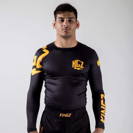 KGZ Rashguard - Orange Edition