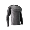 Phalanx Soldier One 2.0 Rashguard - Charcoal - front left