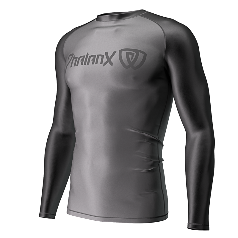 Phalanx Soldier One 2.0 Rashguard - Charcoal