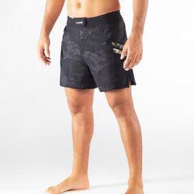 Virus Disaster II Combat Shorts - Black Camo