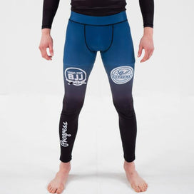 Yoga for BJJ Spats - Blue fade