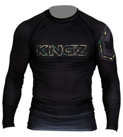 Camo Long Sleeve Rash Guard