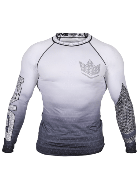 Kingz Crown 3.0 Ranked Rash Guard - White
