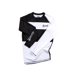 Progress Ranked Rashguard 2.0 White