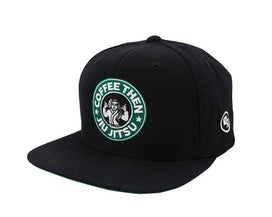 Coffee Snapback Hat - Black