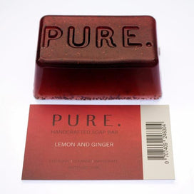 Idee Pure Red Lemon and Ginger Soap Bar
