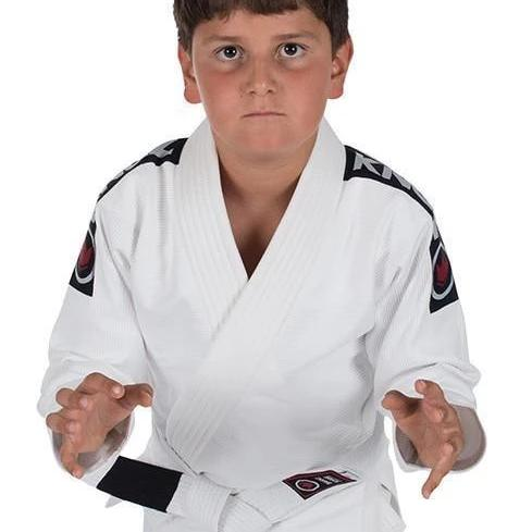 Kingz Kid's Basic Jiu Jitsu Gi (w/ Free White Belt)