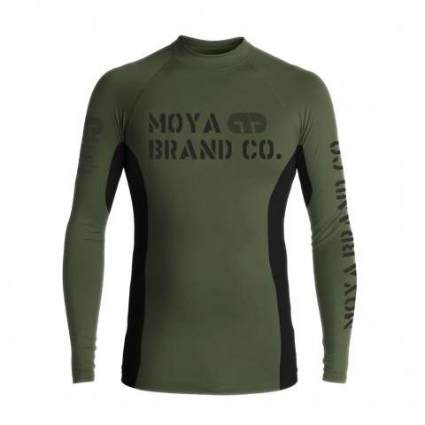 Moya Brand Defend Rashguard - Military Green