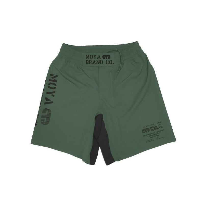 Moya Brand Defend Training Shorts - Green