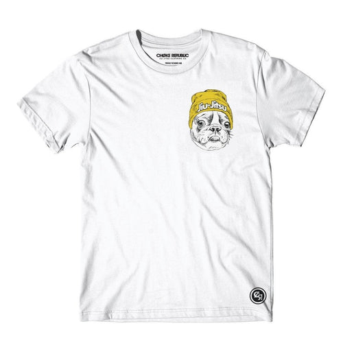 Frenchie Tee - White