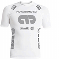 Short Sleeve Team Moya Rashguard - White