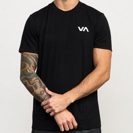 RVCA VA Vent Short Sleeve Top - Black